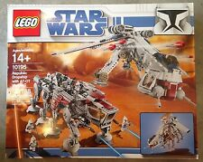 LEGO STAR WARS SET 10195 REPUBLIC DROPSHIP & AT-OT NIB FACTORY SEALED