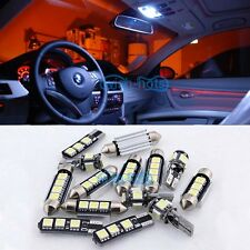 12x White Canbus Interior LED Light Package Kit For 1998-2005 Porsche 911 996