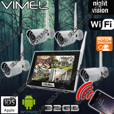 Wireless Security Cameras System 32GB WIFI IP CCTV Farm Home Remote Phone View