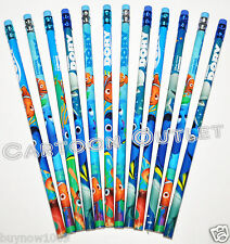 12 PC FINDING DORY PENCILS w/erasers FOR PARTY CANDY BAGS PARTY FAVORS NEMO GIFT