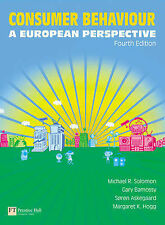 Consumer Behaviour: A European Perspective by Solomon, Miceal, Bamossy, Gary, A