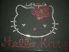 Hello Kitty Hot Fix Rhinestone Iron On Transfer Bling MADE IN USA