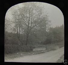 Glass Magic Lantern Slide BOROUGHBRIDGE NO6 C1900 YORKSHIRE