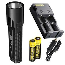 Nitecore EC4GT Die-Cast 1000 Lumen LED Flashlight w/ 2x18650s & i2 Smart Charger