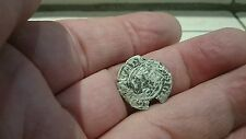 Selling as Unidentified rare? Medieval silver Hammered Coin  0.81g  41