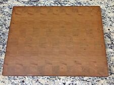 "Cherry Butcher Block Cutting Board NEW end grain 14"" X 18"" X 1-3/8"""