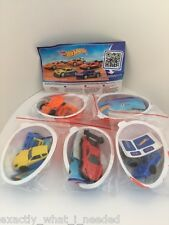 KINDER Surprise HOT WHEELS LIMITED EDITION SERIE COMPLETA DI 5 India RARO 2014