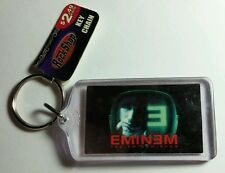 AS-IS EMINEM SHOW TV FACE RED BLACK  MUSIC KEY CHAIN KEYCHAIN