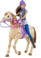 Barbie Saddle 'N Ride Horse and Teresa Doll Standard Packaging