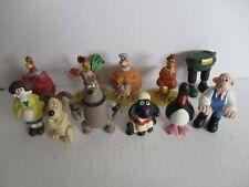 11 Comicfiguren WALLACE UND & GROMIT Figuren PVC Figures
