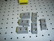 Concrete Blocks for you garage/shop - 6 each - SCALE  -1/18 Scale Diorama
