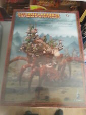 WARHAMMER FANTASY / AGE OF SIGMAR ARACHNAROK SPIDER  - NEW AND SEALED
