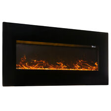 "2in1 Electric Wall Mount Fireplace Heater Stand XL Large W/ Remote 50""-inch"