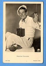 MAURICE CHEVALIER # 7212/2 WITH CIGARETTE AND CAMERA VINTAGE PHOTO PC.  360