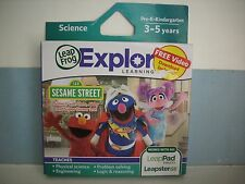 LEAP FROG EXPLORER SESAME STREET 123 ELMO GAME LEAP PAD ULTRA LEAPSTER GS NEW