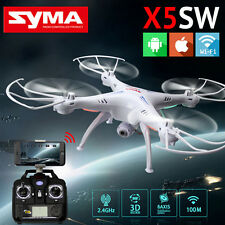 Syma X5SW RC Quadcopter WIFI FPV RTF 2.4Ghz 4CH 6-Axis HD Camera White