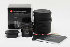 Brand New Leica Super-Elmar-M 21mm f/3.4 ASPH Black #11145