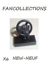 LEGO - X6 Steering Stand 1 x 2 with Black Steering Wheel  , 3829c01  NEUF