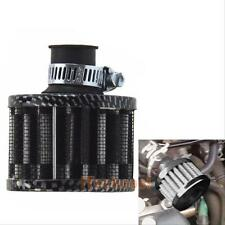 12mm Carbon Cold Air Intake Filter Turbo Vent Crankcase Breather for Car Motor