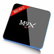 M9X Android 6.0 Tv Box S912 3G/16G 64 bit BT4.0 Dual Wifi Marshmallow