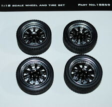 GMP 18859 10 Spoke Street Fighter Wheel and Tire Pack of 4 NEW!!!