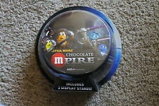 STAR WARS CHOCOLATE MPIRE M&Ms CHEWBACCA & MACE WINDU