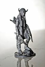 Soldado de juguete de plomo, Nativo Americano Guerrero, rara, Coleccionable, idea de regalo, detallados,