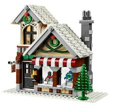 !! Genuine New Lego Winter Toy Shop House Split From Set 10249 !!