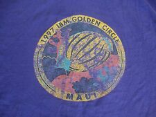 Vintage 90's 1997 IBM Golden Circle Maui Hawii Rare T Shirt Adult Size XL