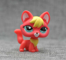 Littlest Pet Shop #2642 LPS Animals Toy hot RED fox loose figure child Cute