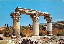 B64353 Russia Ancient Corinth the ruins of an ancient temple