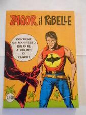 Zagor scritta rossa n.90 Lire 400 con poster ancora attaccato - fumetto d'autore