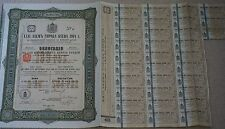 1915 Russian City of Kiev bond for £20