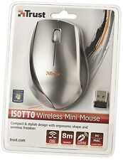 TRUST 17233 ISOTTO SCROLL WHEEL WIRELESS OPTICAL MOUSE WITH 8M RANGE