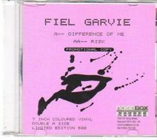 (CY597) Fiel Garvie, Difference Of Me / Risk - DJ CD