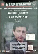 Il Capo Dei Capi Episodio 5 (1982-1987) n° 33 Dvd Nero Italiano Hobby & Work