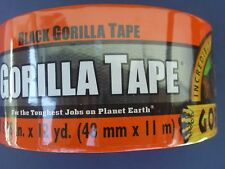 GORILLA TAPE 1.88 INCH X 12 YARDS Heavy Duty Black Duct Tape #190F
