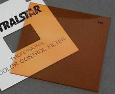"4"" x 4"" 100mm Square RESIN FILTER SPECTRALSTAR PRO WRATTEN 85C COLOR CONVERSION"