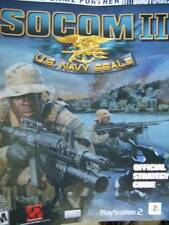 Socom II US Navy Seals Brady Games Official Strategy Guide Playstation 2