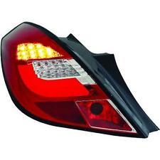 Paar scheinwerfer rücklichter TUNING Lightbar OPEL CORSA D 06-11 3pt, rossi crom