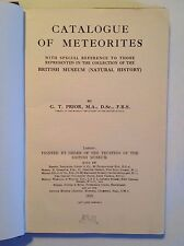 Catalogue of Meteorites by G.T. Prior (British Museum, 1923)