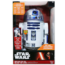 Star Wars The Force Awakens R2-D2 Astromech Deluxe Electronic Interactive Droid