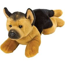 Suki Yomiko Classics Medium Plush Life Like German Shepard Resting Dog Teddy