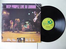 Deep Purple Live In London Vinyl LP Harvest SHSP 4124 A1/B1