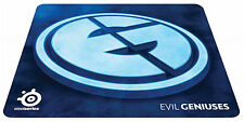 "SteelSeries Mini QcK+ Gaming Mouse Pad -Evil Geniuses Edition 9.84""x8.27""x0.08"""