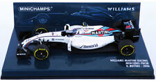 Minichamps Williams F1 FW38 #77 2016 - Valtteri Bottas 1/43 Scale