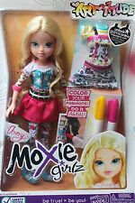 NEW MOXIE GIRL GIRLZ AVERY  DOLL COLOR YOUR FASHION OUTFIT DRESS ART BLONDE BLUE