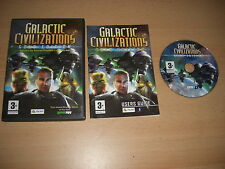 Galactic Civilizations 1 GOLD EDITION  inc ALTARIAN PROPHECY Add-On Expansion Pc