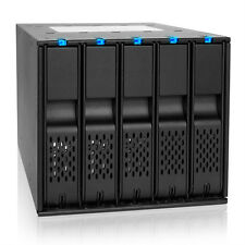 ICY DOCK FlexCage MB975SP-B Tray-Less 5x 3.5 SATA HDD in 3x 5.25 Bay Rack Cage