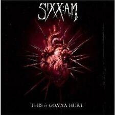 SIXX: A.M. - THIS IS GONNA HURT  CD 11 TRACKS HARD ROCK / HEAVY METAL  NEU